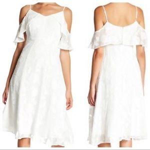 CeCe Cynthia Steffens Off the Shoulder Dress NWT